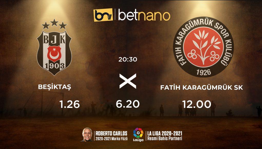 Beşiktaş - Karagümrük Maçı