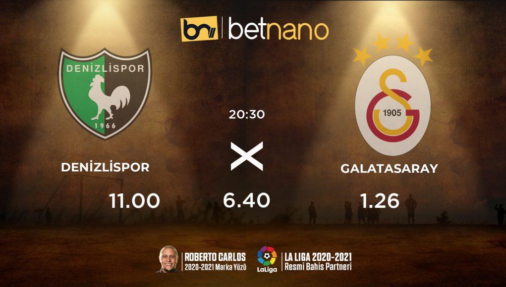 Denizlispor - Galatasaray Maçı
